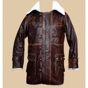 The Dark Knight Rises Bane Leather Coat