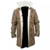 bane leather coat